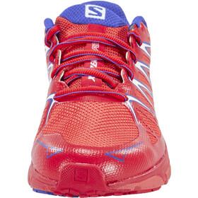 Salomon X-Scream Foil Zapatillas Trailrunning Mujer, papaya-b/lotus pink/spectrum blue